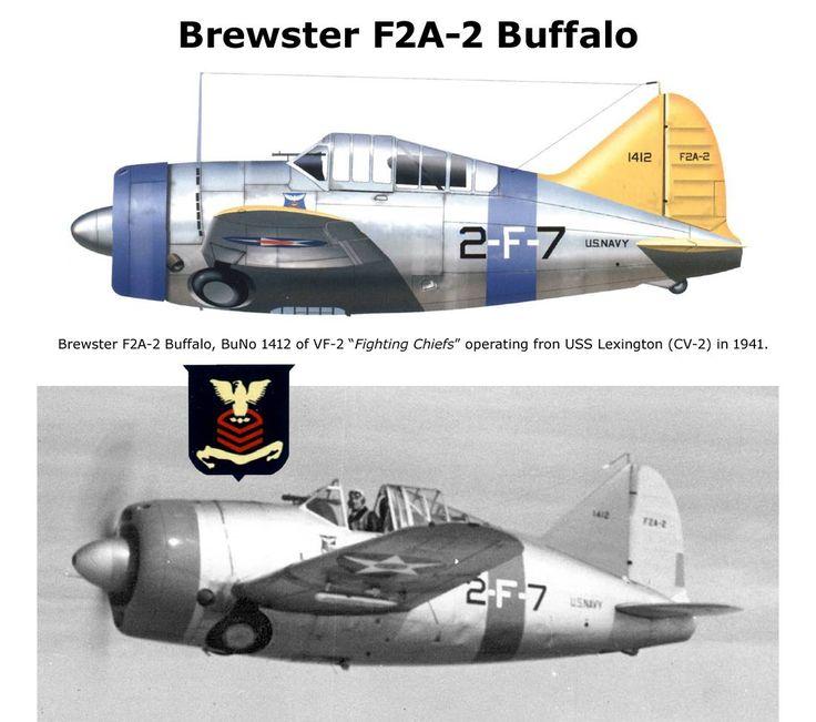 Brewster F2A-2 Buffalo