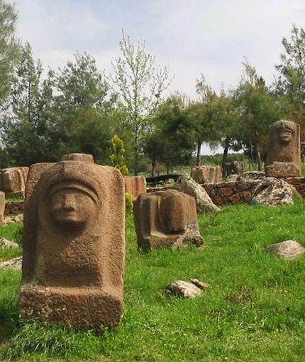 Yesemek/Islahiye/Gaziantep/// Tarihte bilinen ilk açık hava heykel sergi alanı