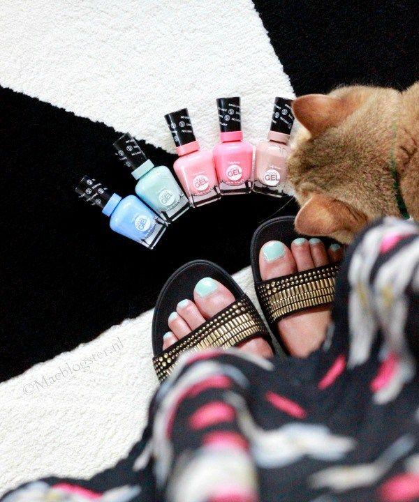 Pastel gel nagellak: Sally Hansen Miracle Gel
