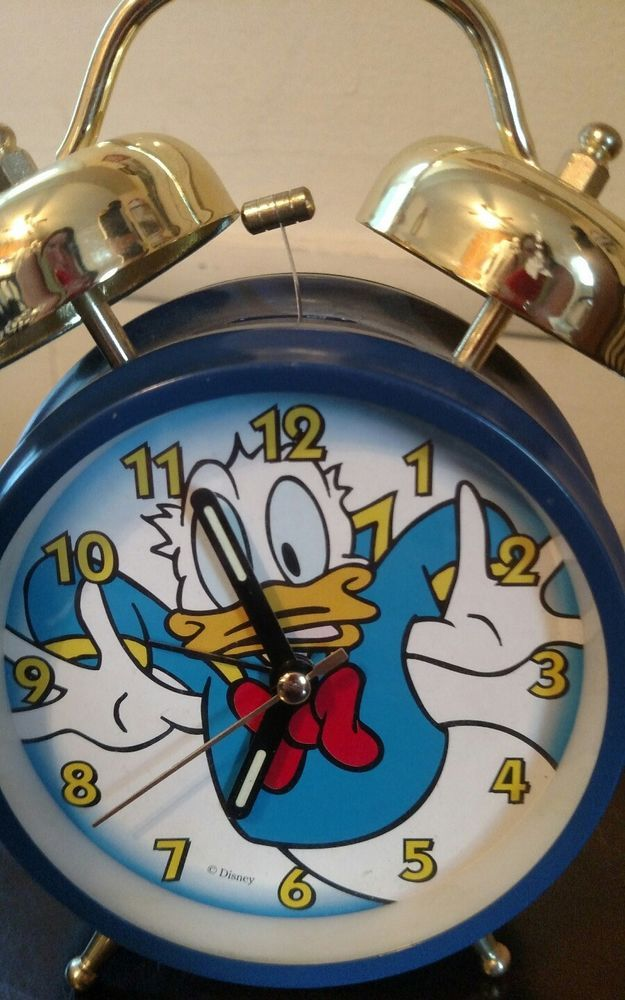 Disney Donald Duck Alarm Clock | Collectibles, Disneyana, Contemporary (1968-Now) | eBay!