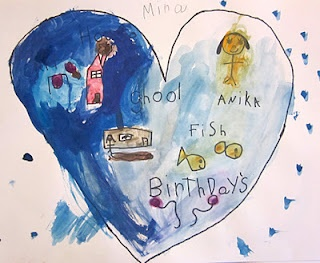 Map of My Heart-- Kindergarten