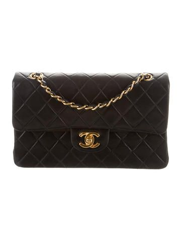 Chanel Classic Small Double Flap Bag NAVY