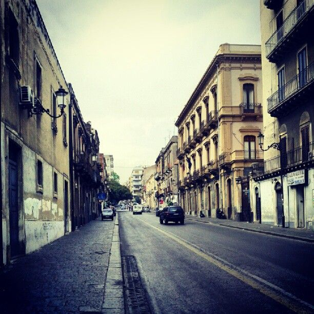 Via Etnea in Catania, Sicilia