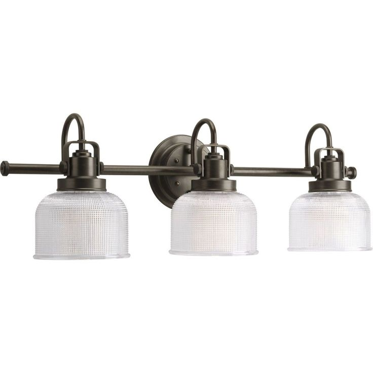 Progress Lighting Archie Venetian Bronze Three Light Bath Fixture On SALE