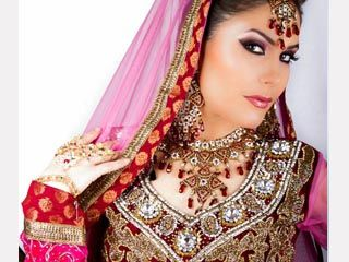 Asian Bridal Makeup Hair, Makeup & Styling: Mariya Rai Photography: Ussama Rai