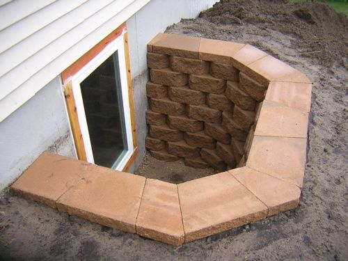 egress window wells denver well covers home depot gallery stone exterior rounded block area measurements