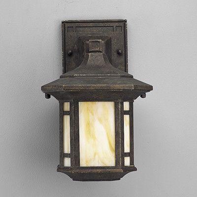arts and crafts exterior wall lighting. progress lighting arts and crafts 1 light outdoor wall lantern   wayfair exterior s