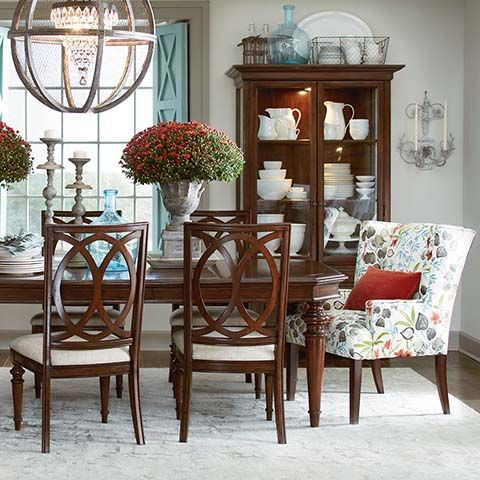 Rectangular Dining Table Highlands Love The Chairs Bassett