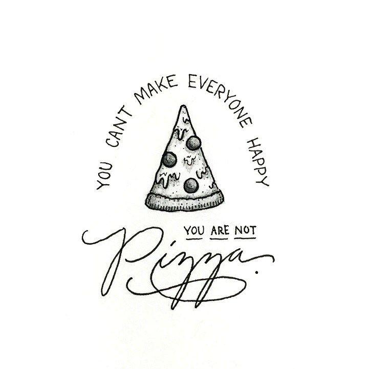 """O ilustrador Scotty Russell usa seu talento para espalhar mensagens de positividade e motivação. Por meio de seu projeto Perspective-Collective, ele divulga incríveis ilustrações, que misturam tipografia e elementos visuais relacionados ao tema. Emoção e humor se fazem presentes em frases como """"Você não pode fazer todos felizes. Você não é pizza"""", ou """"Enfrente seus …"""