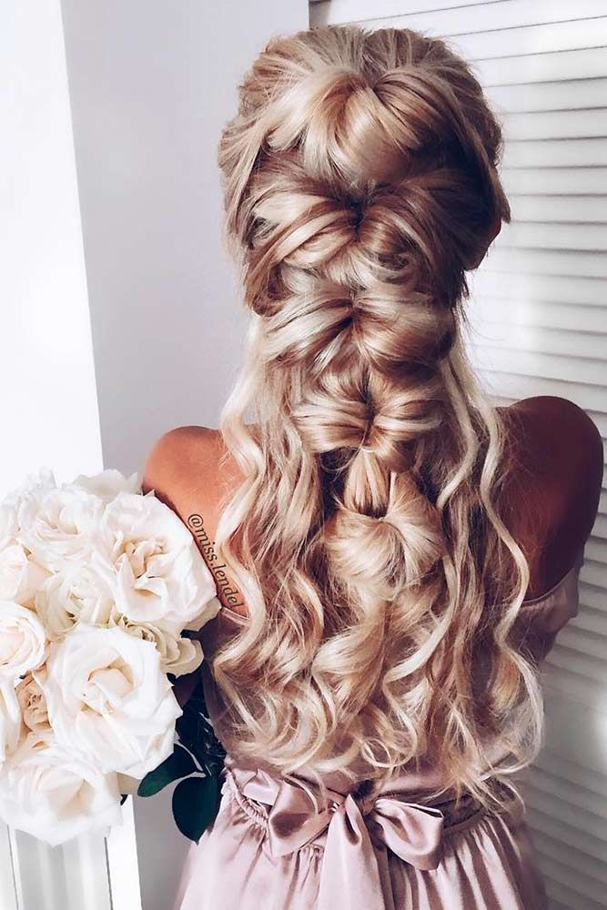In case you are searching for wedding hairstyles for long hair, do not miss our photo gallery! We have collected the trendiest hairstyles.