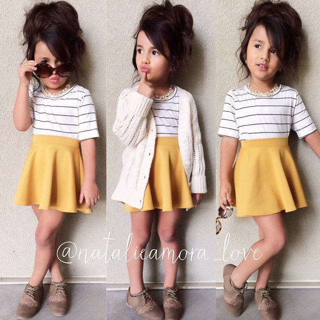 Cutest little outfit. I must get the whole look for Madison.
