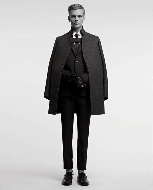 MODELTA, Valentino Men:F/W 2012 Ad Campaign Benjamin Eidem...