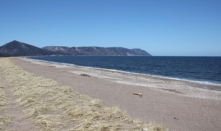 Dingwall Beach Cape Breton Nova Scotia - just off the Cabot Trail. Take a dirt road called Quarry Road and continue to drive all the way to the end, right past the Wharf. There is a small area to park your car once you reach the beach.