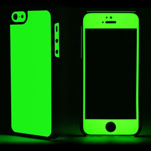 iPhone 5S Case Glow Series Green