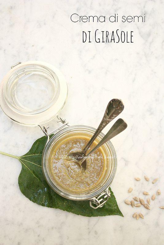 Una finestra di fronte: Crema di semi di girasole
