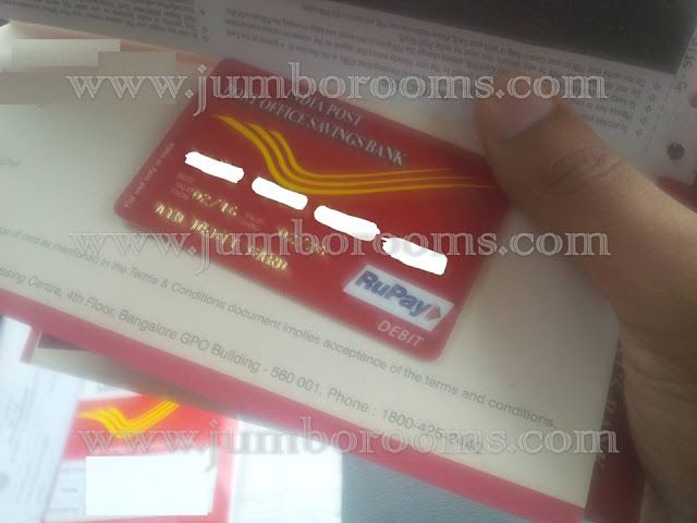 Payments Bank Facilities at Indian Post Offices, activate atm card of post office savings bank