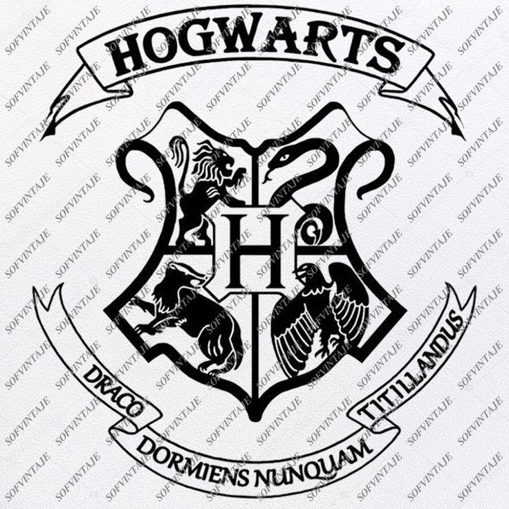 Hogwarts Emblem Svg File Muggle Svg Hogwarts Logo Svg