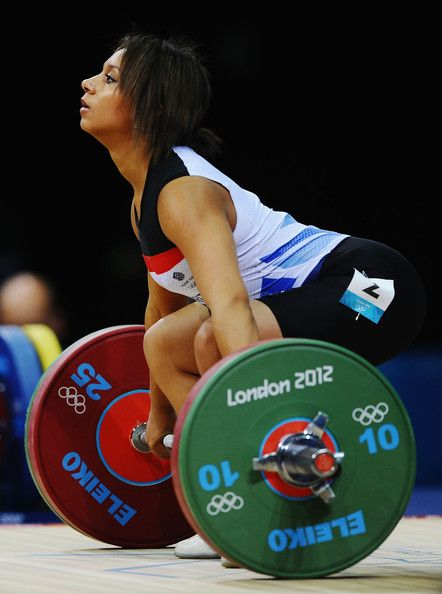 Zoe Smith: 2012 Olympics - Weightlifting