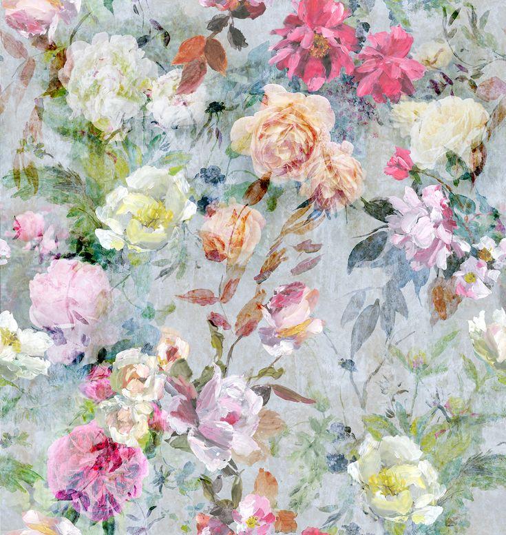 Designers Guild Marianne Fuchsia floral fabric print