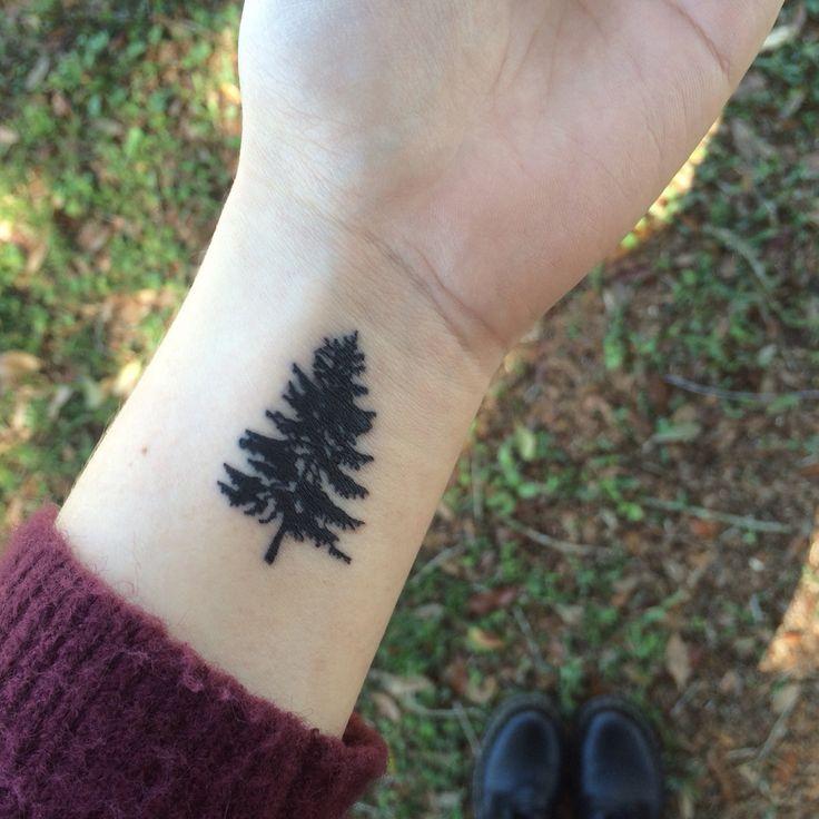 my small pine tree tattoo…