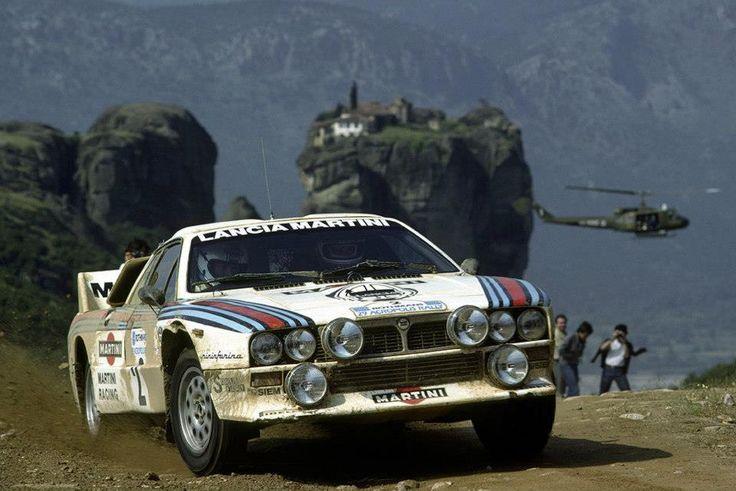 1983 ACROPOLIS RALLY - Lania 037 Rallye. Entrant: Martini Racing. Drivers: Markku Alén / Ilkka Kivimäki.Place: 2nd o/a.