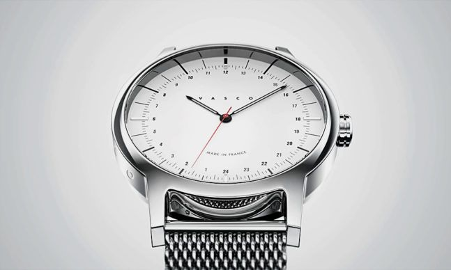 Vasco, the up-and-coming French watch brand based in Bordeaux and inspired by the minimalism of Bauhaus, is back with a second Kickstarter for another batch of 24-hour watches. Unlike other affordable business casual watches, Vasco focuses on a 24-hour watch setup worn by the likes of submariners, a…