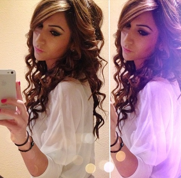 Incredible 1000 Images About Curling Wand Curls On Pinterest Wand Curls Short Hairstyles Gunalazisus