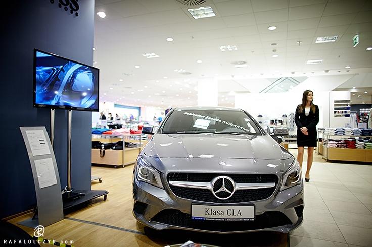 New Mercedes CLA in Peek shop in Łódź (from 15 to 30 April 2013r.).    Photo: Rafał Olczyk