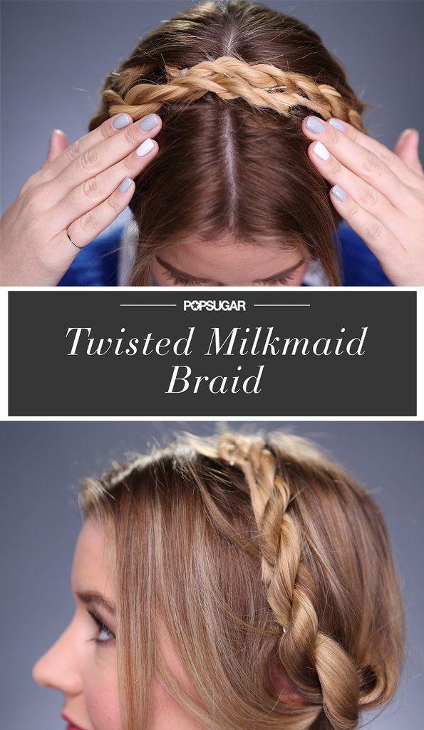 Put a Twist on the Classic Milkmaid Braid