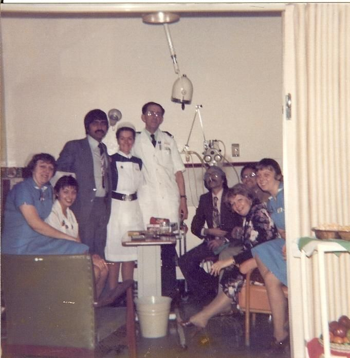 Wigan Infirmary ITU 1977