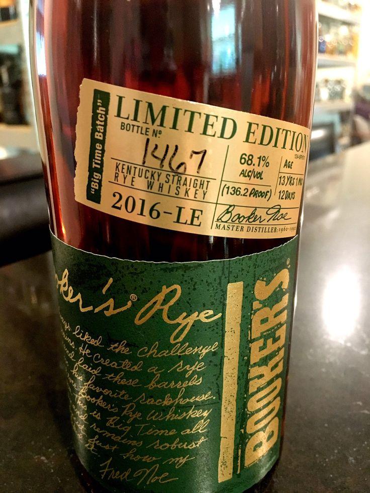 Bourbonit Review #114 - Booker's Rye #bourbon #whiskey #whisky #scotch #Kentucky #JimBeam #malt #pappy