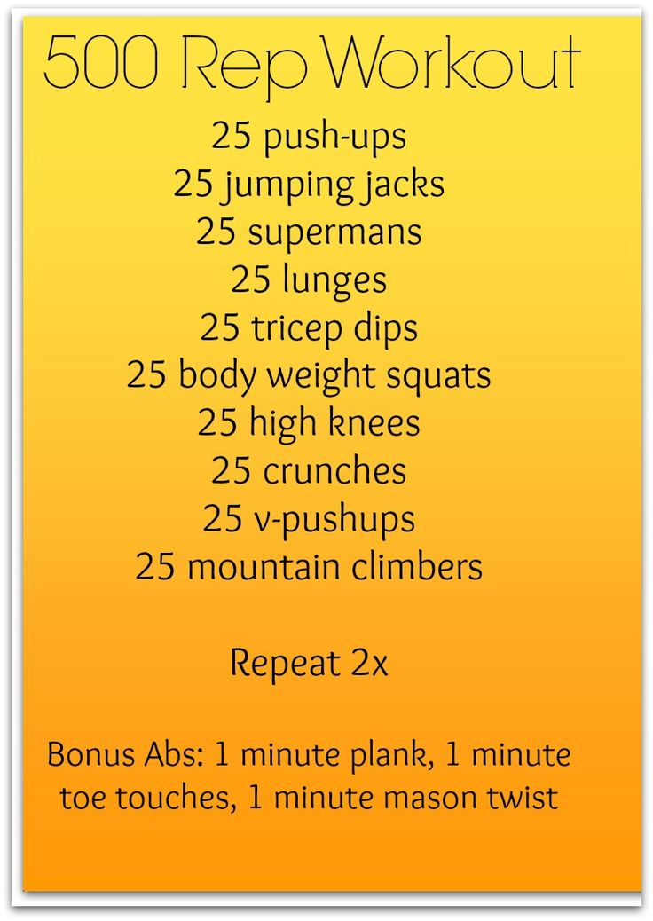 500 rep workout at home - @ training-tidbits.com