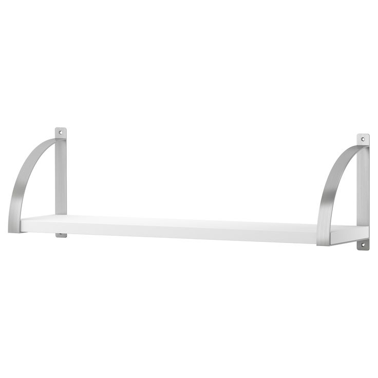 EKBY JÄRPEN/EKBY ROBERT Wall shelf - white - IKEA