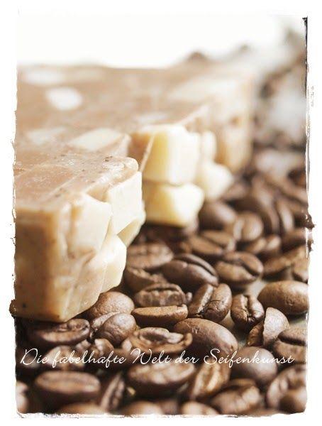 Beautiful Sie ist eine meiner Lieblingsseifen immer habe ich ein St ck Kaffeeseife in der K che bei