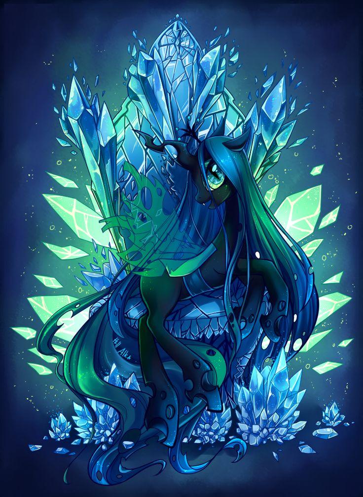 Queen Chrysalis by Hell-Alka.deviantart.com on @deviantART