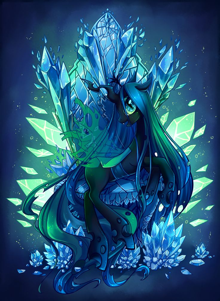 Queen Chrysalis by Hell-Alka.deviantart.com on @deviantART