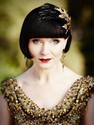 Essie Davis in 'Miss Fisher's Murder Mysteries' - Season 2 available via Acorn TV, on demand as of 1-6-14.