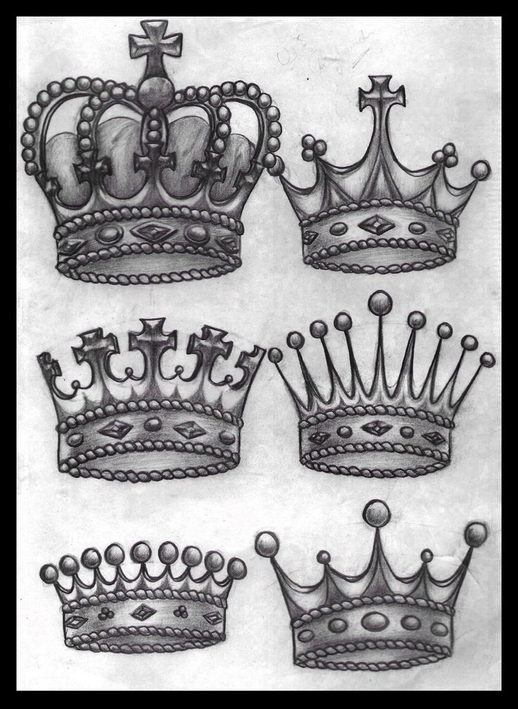 Inspirational tattoos Killer King Crown Tattoo