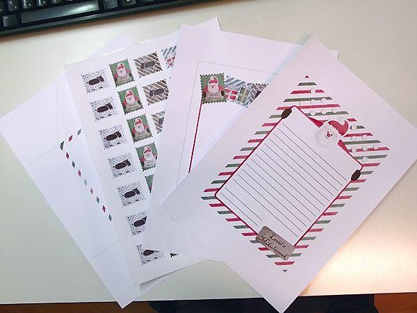 Letter and stamps to Santa - Levél és bélyegek a Mikulásnak