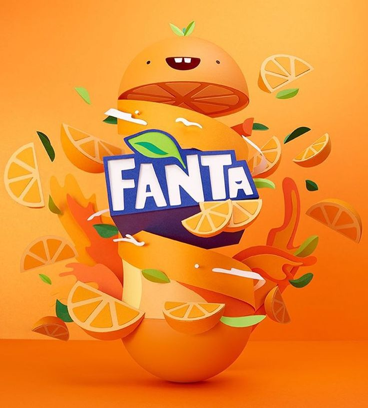 Last piece for Fanta, super funny work