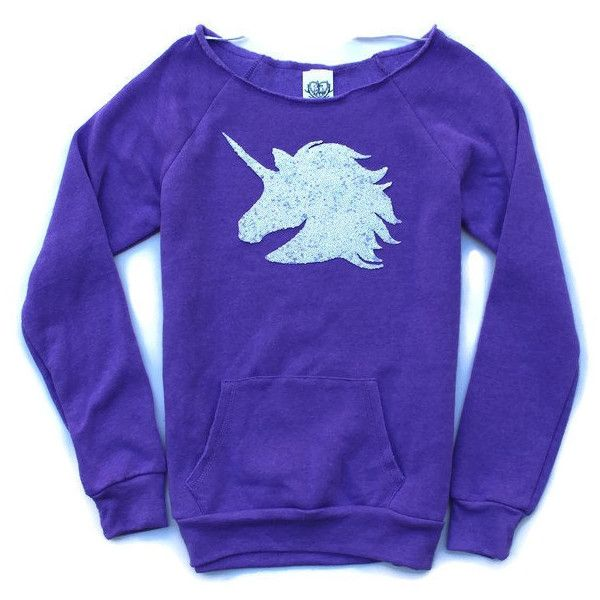 Unicorn Shirt Magical Unicorn Unicorn Sequin Unicorn Patch Sweatshirt... ($55) ❤ liked on Polyvore featuring tops, hoodies, sweatshirts, purple, women's clothing, sequin shirt, sequin sweatshirt, unisex shirts, blue shirt and patch shirt