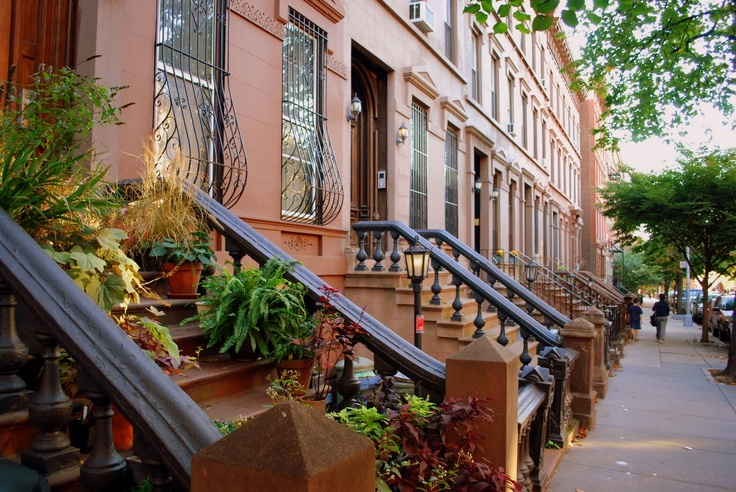 My photo of brownstones in Brooklyn, New York: Travel, Photo