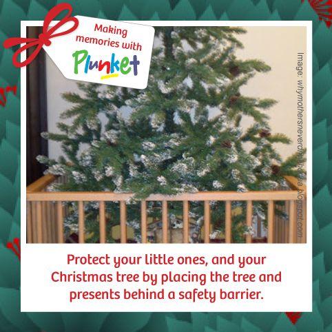 #1 Keep your little ones safe around the Christmas tree #Plunketadventcalendar  Image source: http://whymothersneverdrinkhottea.blogspot.com