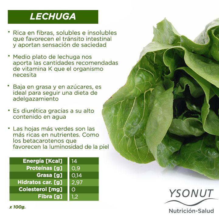 Sin ella la #ensalada no es lo mismo. Hoy te contamos algunos de los beneficios de la #lechuga. Elegí la variedad que más te guste y aprovechá de todos sus nutrientes.