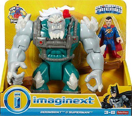 Imaginext DC Super Friends Doomsday & Superman