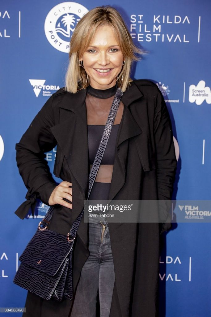 Carla Bonner arrives ahead of the St Kilda Film Festival 2017 Opening Night at Palais Theatre on May 18, 2017 in Melbourne, Australia.
