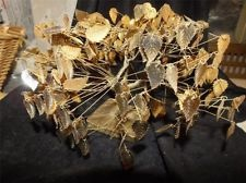 "Original Vintage ""Dream Tree"" by J E Tramel - Gold Foil Leaves w/ Twisted MetalGold Foil, Mod Decor, Originals Vintage, Mid Century, Twists Metals, Vintage Dreams, Foil Leaves, Dreams Trees, Century Mod"
