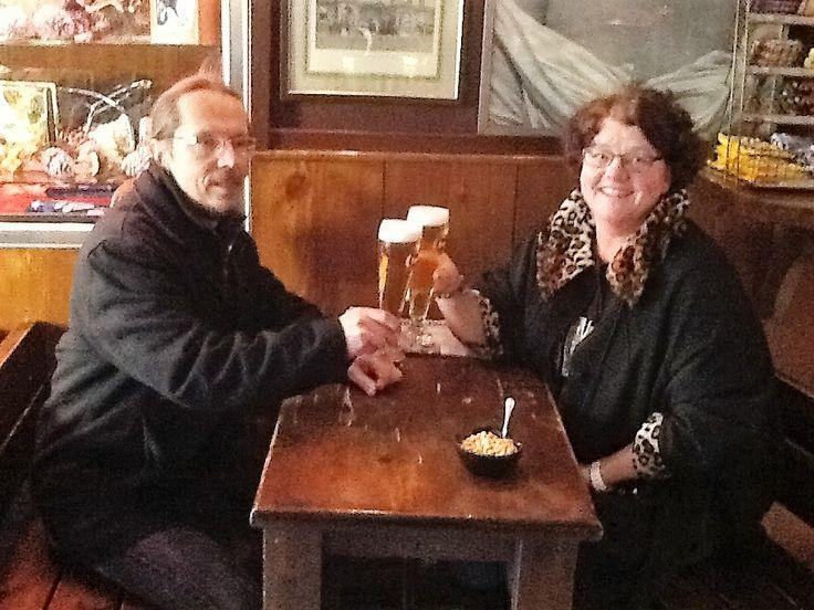 Kävimme Italiassa, Bergamossa yhdessä. Kanssasi oli aina hauska matkustaa. Nautimme hyvästä ruuasta ja olutta maisteltiin ja jotain paikallisia herkkuja tietysti.