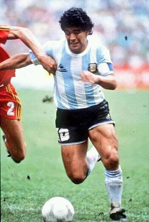 Mundial México' 86 contra Bélgica