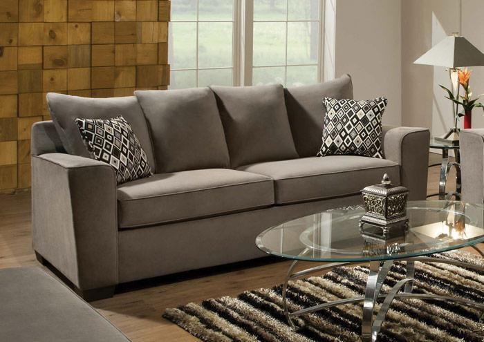Jennifer Convertibles: Sofas, Sofa Beds, Bedrooms, Dining Rooms & More! Bianca Gunsmoke Sofa